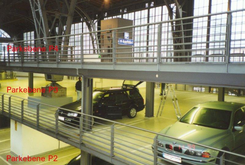 parkhaus ost im hbf leipzig prof schmidt partner baujahr 1997 jahr unserer t tigkeit. Black Bedroom Furniture Sets. Home Design Ideas